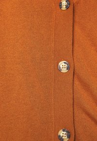 Esprit - BUTTOND CARDI - Cardigan - rust brown - 4