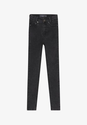 GIRLS HIGH-WAIST - Jeans Skinny Fit - moon black