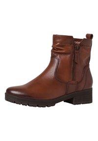 Jana - STIEFELETTE - Ankle boots - cognac - 3