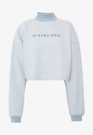 NEW SEASON CROPPED - Mikina - powder blue