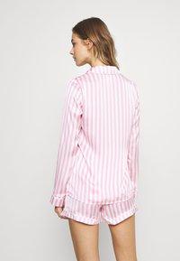 Missguided - STRIPE SET - Pyjamaser - pink - 2