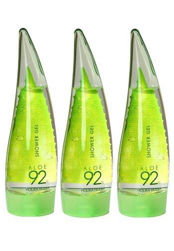 ALOE 92% SHOWER GEL - SET OF 3 - Shower gel - -