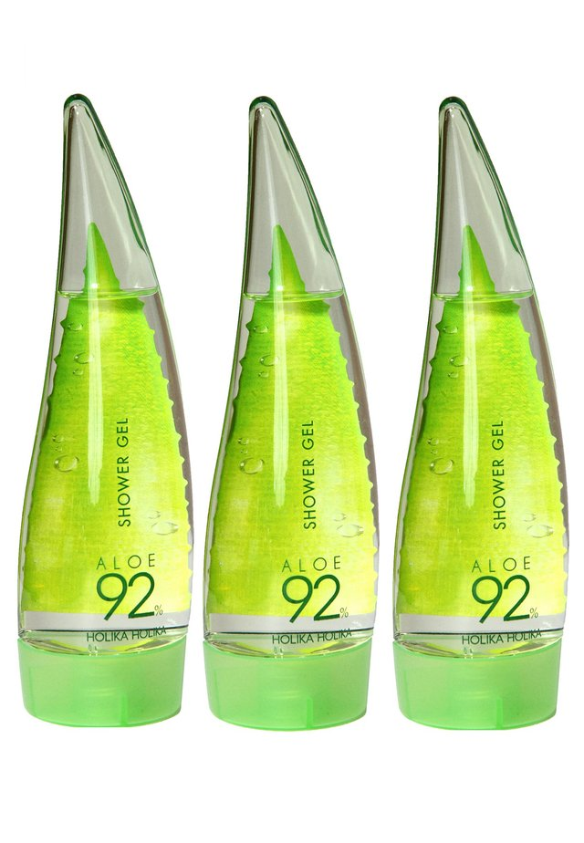 ALOE 92% SHOWER GEL - SET OF 3 - Duschtvål - -