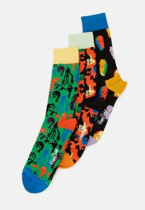 HALLOWEEN SOCKS GIFT SET 3 PACK - Ponožky - multi