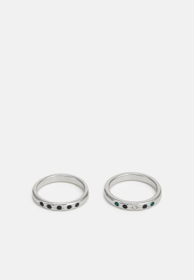 2 PACK - Anello - silver-coloured