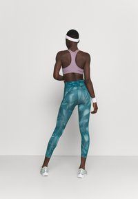 Nike Performance - RUN 7/8 - Leggings - dark teal green/silver - 2