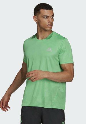 T-shirt med print - green