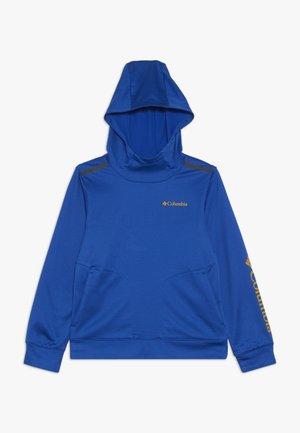 TECH TREK - Felpa con cappuccio - azul