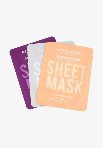 BIODEGRADABLE COMBINATION SKIN SHEET MASK - Skincare set - -
