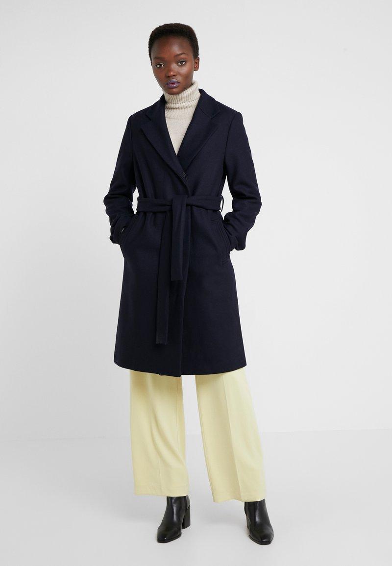 Filippa K - EDEN COAT - Zimní kabát - navy