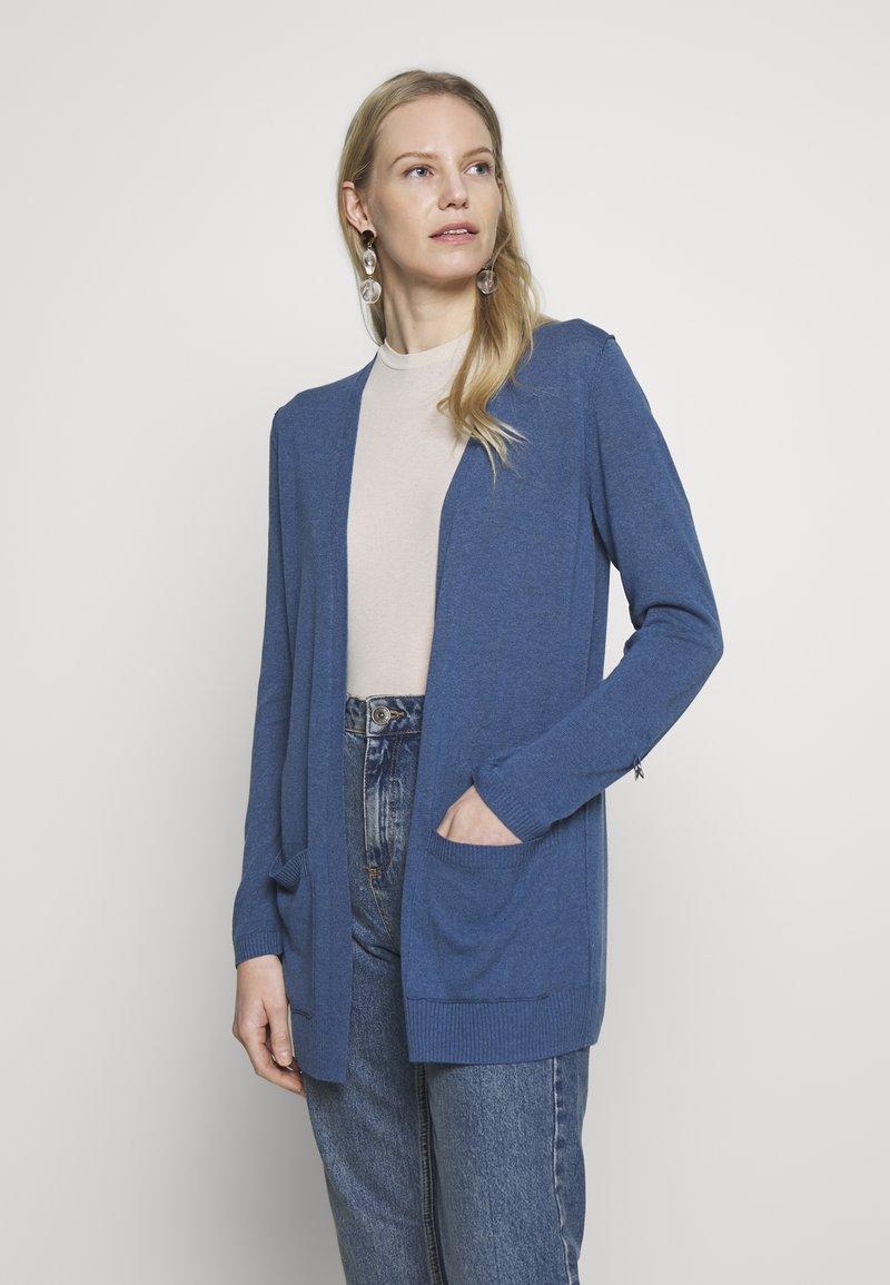 Esprit - UTILITY FINE - Cardigan - grey blue