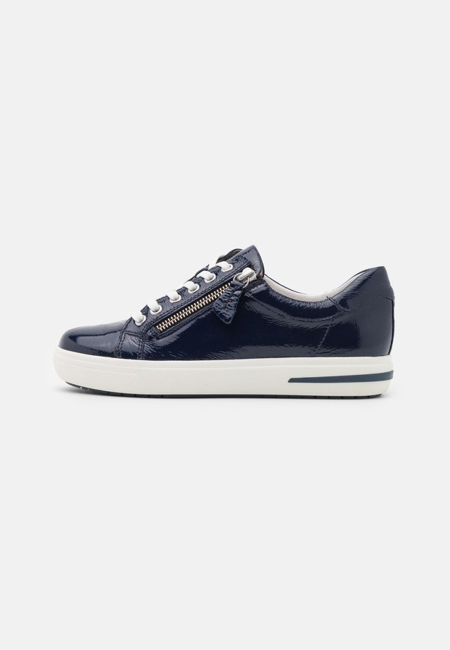 LACE UP - Sneakers laag - marine