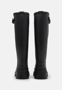 Hunter ORIGINAL - MENS BALMORAL SIDE ADJUSTABLE NEO LINED TECH SOLE BOOT TALL - Wellies - black - 2
