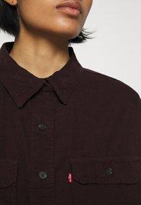 Levi's® - OLSEN UTILITY - Skjorte - bordeaux - 5