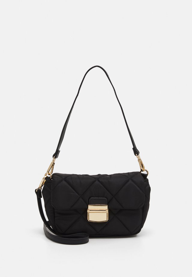 BAG QUILTED - Borsa a tracolla - black