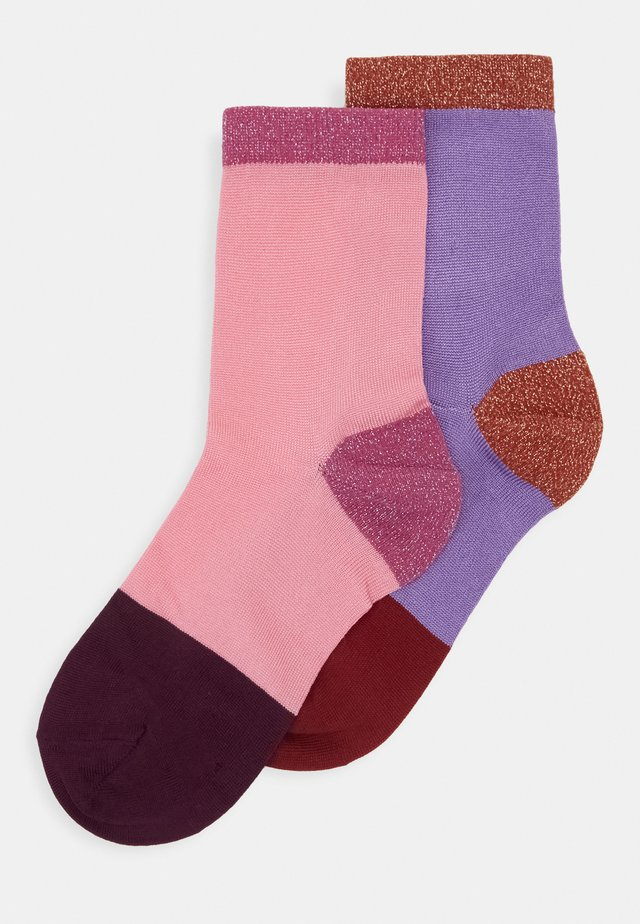 LIZA ANKLE SOCK 2 PACK - Calcetines - multi-coloured