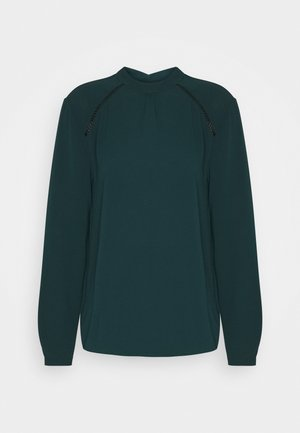 ONLNEW MALLORY BLOUSE SOLID - Bluser - green gables