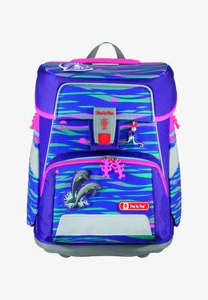 SPACE SET - Schooltas set - shiny dolphins