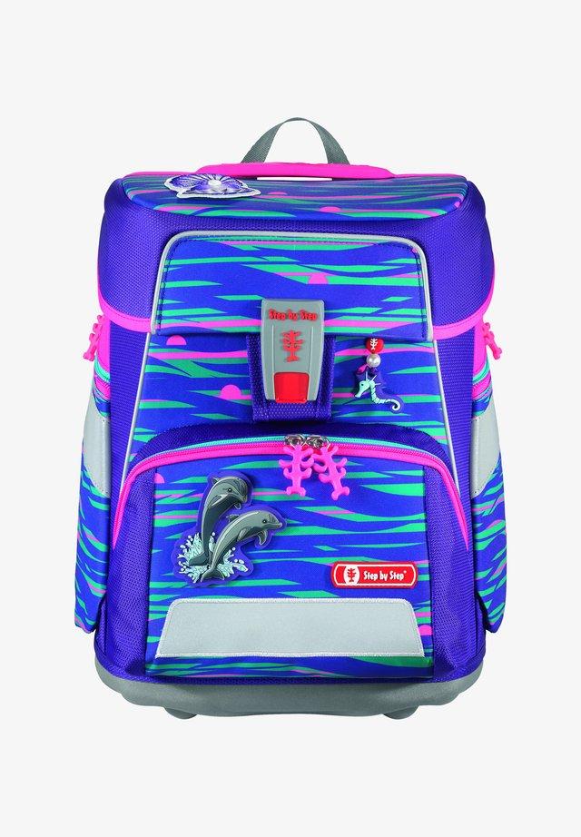 SPACE SET - Set zainetto - shiny dolphins