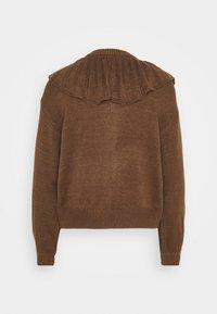 Monki - MIMMI  - Cardigan - brown medium dusty - 1