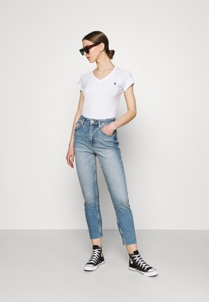 EYBEN SLIM 2 PACK - Camiseta básica - sartho blue/white
