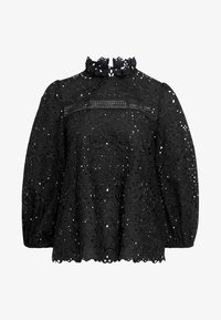 IVY & OAK - PUFFY BLOUSE - Blouse - black - 7