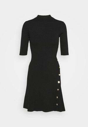 ROSEA - Robe pull - noir