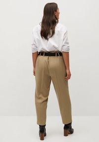 Violeta by Mango - FAST - Trousers - beige - 2