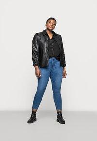 Marks & Spencer London - IVY SKINNY - Jeansy Skinny Fit - blue denim - 1
