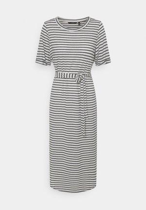 VMALONA 2/4 CALF DRESS - Jerseykjole - navy blazer/white