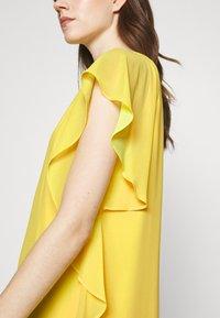 Lauren Ralph Lauren - OLOKUN CAP SLEEVE DAY DRESS - Cocktail dress / Party dress - lemon rind - 5