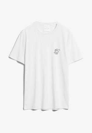 JAAMES STRUGGLE - T-shirt imprimé - white