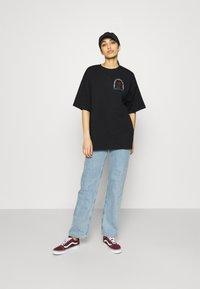 Even&Odd - Print T-shirt - black - 1
