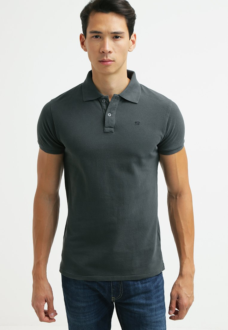 Scotch & Soda - CLASSIC GARMENT  - Polo shirt - antra