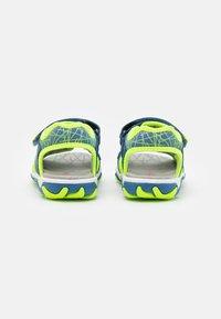 Superfit - MIKE 3.0 - Walking sandals - blau/gelb - 2