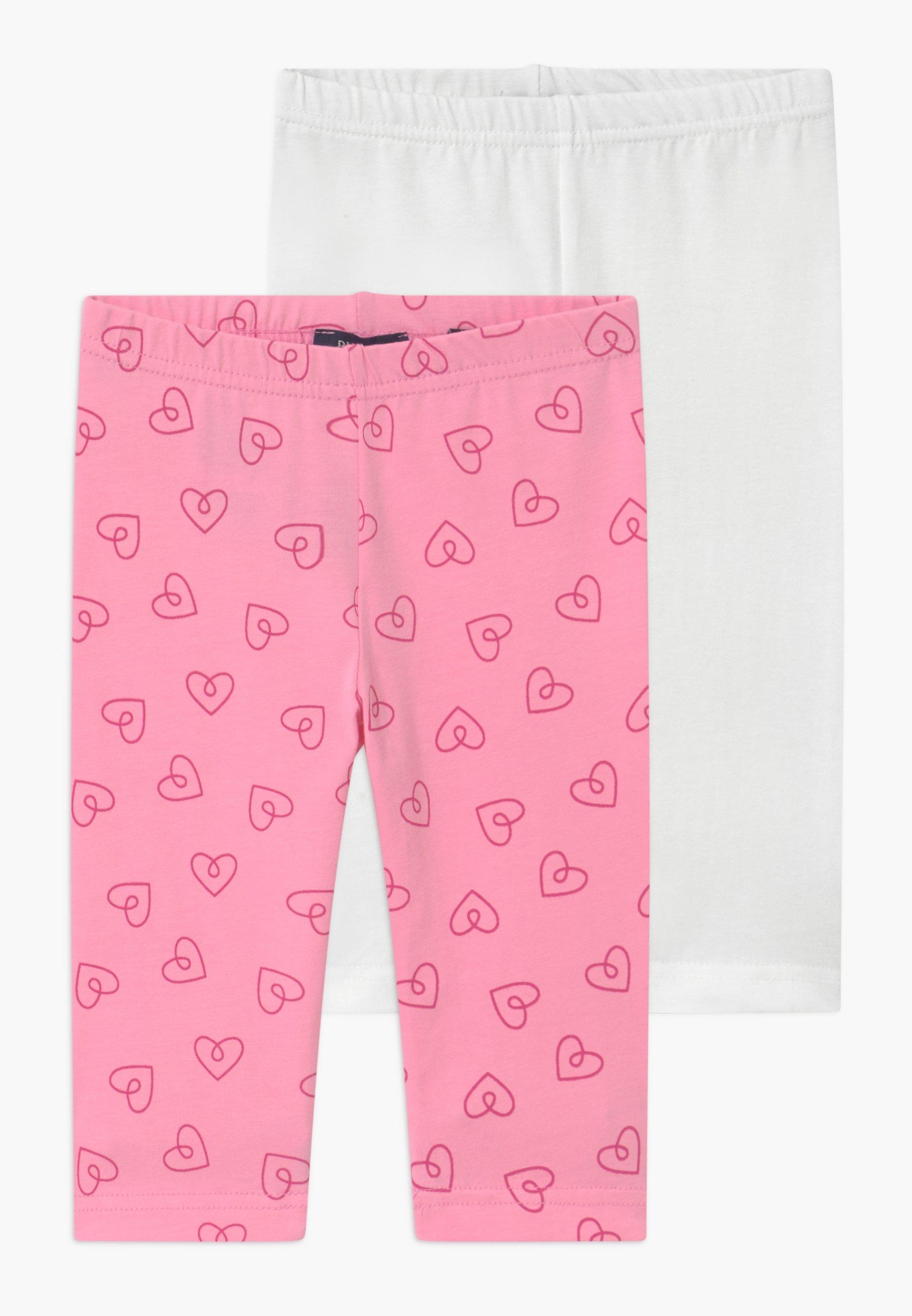 Kids SMALL GIRLS HEARTS 2 PACK - Leggings - Trousers