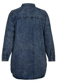 Zizzi - Button-down blouse - blue - 6