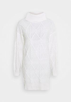 ECLECTIC DRESS - Jumper dress - white