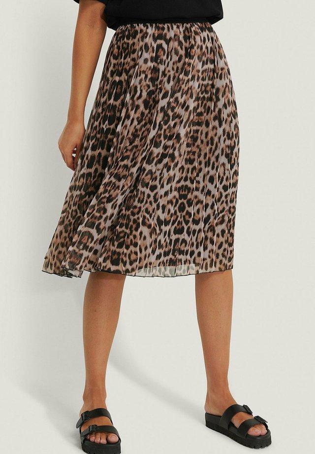 A-line skirt - leo