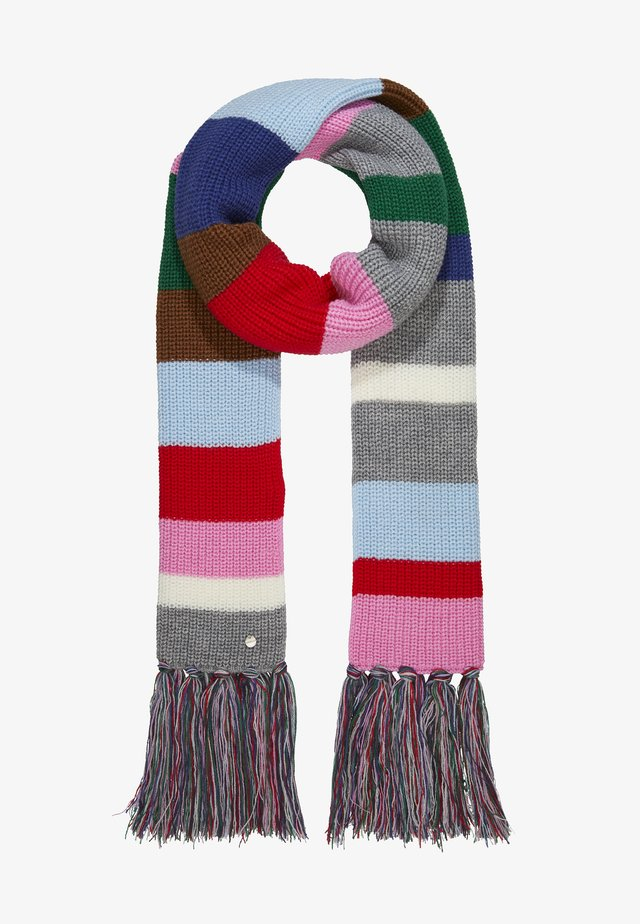 STRIPE SCARF - Bufanda - light rose