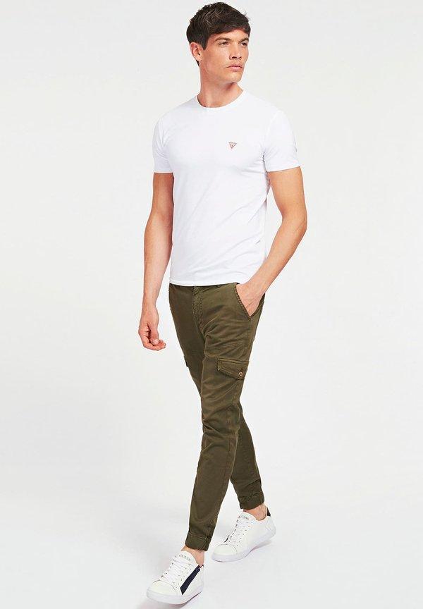 Guess COUPE - T-shirt basic - blanc/biały Odzież Męska BEQI