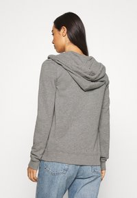 Hollister Co. - TERRY TECH CORE - Mikina na zip - grey - 2