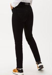 BRAX - STYLE LAVINA - Slim fit jeans - black - 1