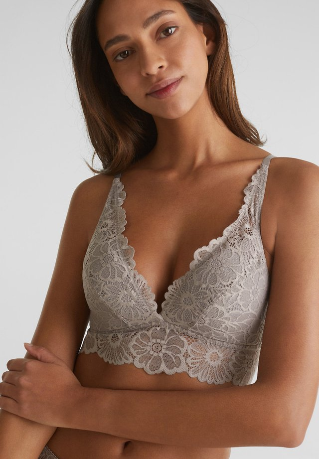 Underwired bra - light taupe
