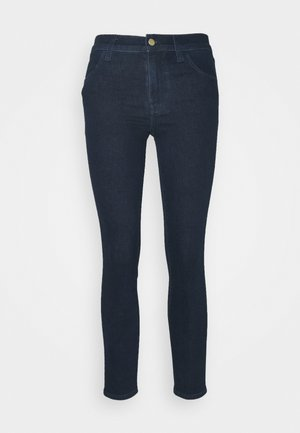 ALANA HIGH RISE CROP - Skinny džíny - blue denim