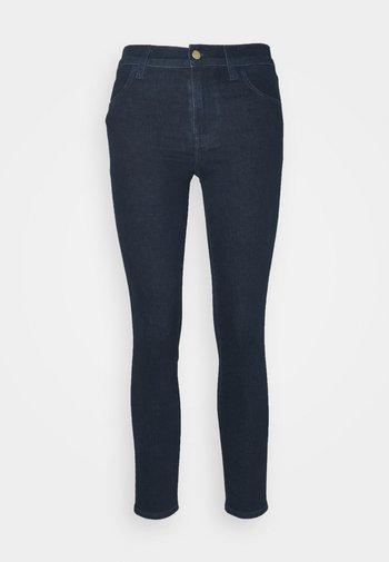 ALANA HIGH RISE CROP - Jeans Skinny Fit - blue denim