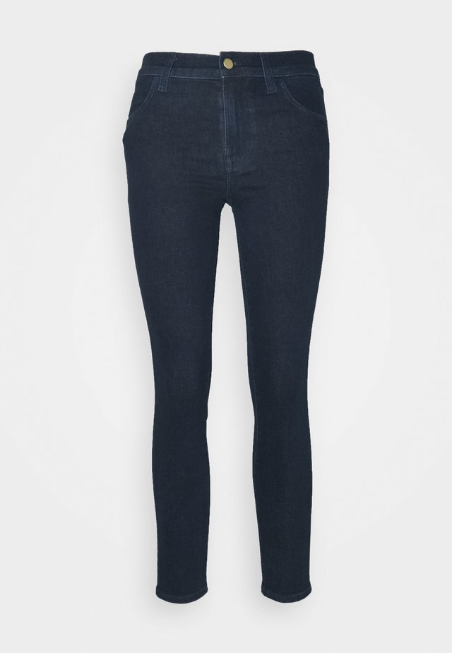 ALANA HIGH RISE CROP - Jeans Skinny - blue denim
