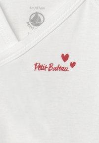 Petit Bateau - NAISS 3 PACK - Body - white - 3
