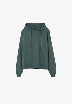 MIT KAPUZE - Sweat à capuche - green