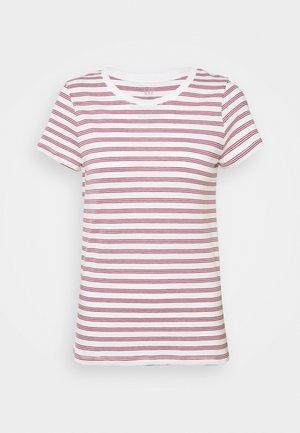 FAV CREW - Print T-shirt - pink